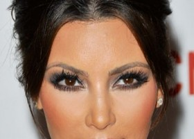 make up yeux kim kardashian