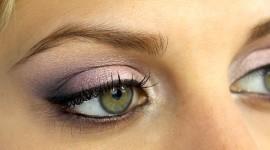 maquillage pour yeux gris vert