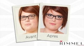maquillage yeux lunettes