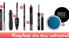 maquillage yeux waterproof