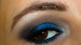 make up soirée yeux marrons