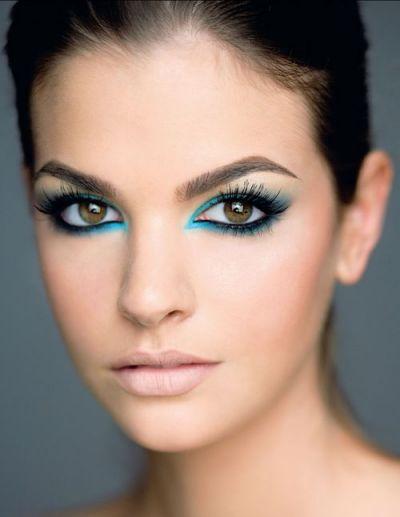 Make up yeux marrons - Astuce de maquillage pour les yeux marrons ...