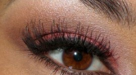 maquillage yeux bruns