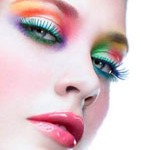 maquillage yeux disco