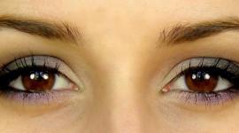 maquillage yeux noisettes en amande
