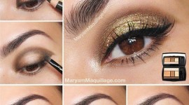 tuto make up yeux rond