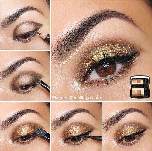 Célèbre tuto make up yeux rond OI05