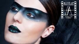 make up bandeau noir yeux