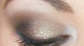 maquillage pour soirée yeux marron