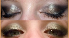 maquillage yeux gala