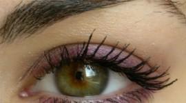 maquiller yeux vert marron