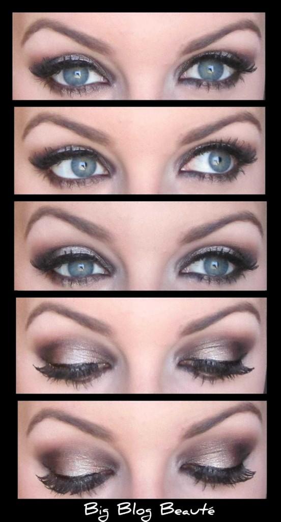 Tuto make up yeux bleus - Make up yeux bleu ...