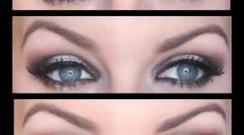 tutorial make up yeux bleus