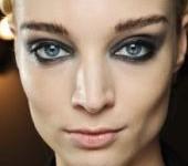 make up soirée yeux bleus