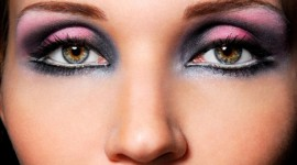make up yeux creux