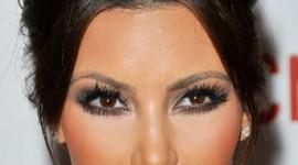 maquillage yeux kim kardashian