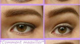 maquillage yeux qui tombe