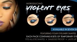maquillage pour yeux autocollant
