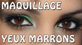 maquillage pour yeux marrons youtube