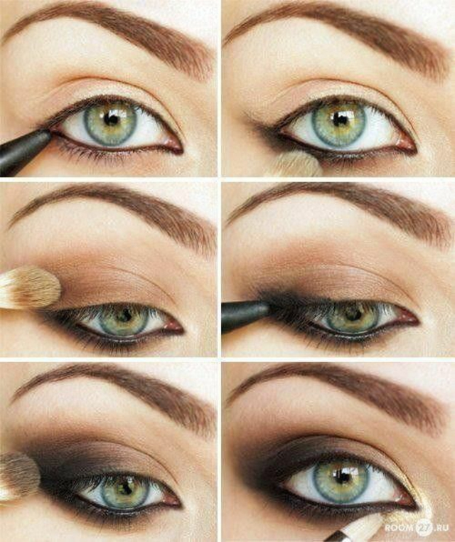 idees maquillage yeux verts