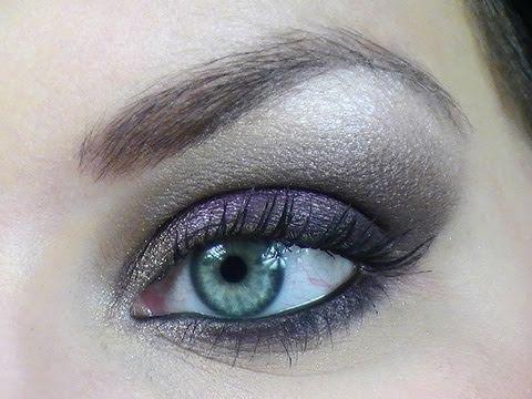 maquillage soiree yeux bleus youtube