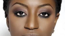 maquillage yeux femme noire