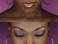 maquillage yeux peau noire