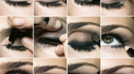 tuto make up yeux marron