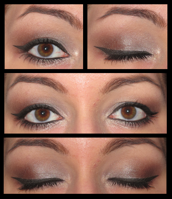 Extrem tuto make up yeux noisettes JA79