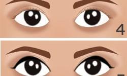 make up naturel yeux marron