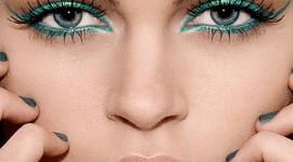 maquillage pour yeux bleu vert gris