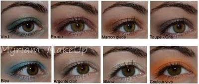 Quel maquillage mettre sur yeux marrons/verts?  Vêtements  FORUM mode