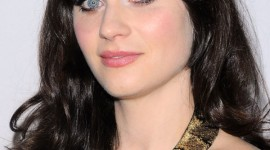 maquillage yeux zooey deschanel