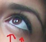 maquiller yeux gonflés