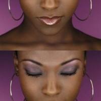 maquiller yeux peau noire