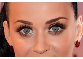 maquillage yeux katy perry