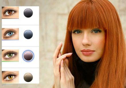 Quelle couleur de cheveux pour yeux vert bleu