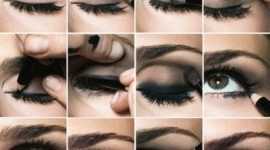 tuto make up yeux noir