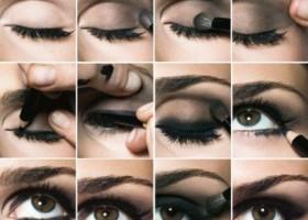 tuto make up yeux noir